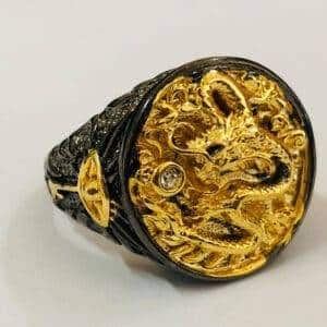 bague dragon chinois