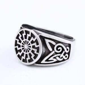 bague viking cercle