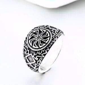 bague viking cercle celtique