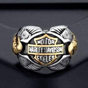 Bague biker Harley-Davidson