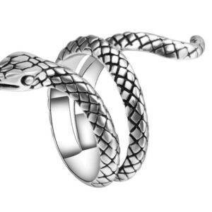 Bague serpent fille