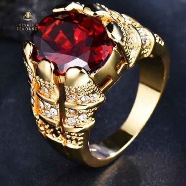 Bague vintage diamant