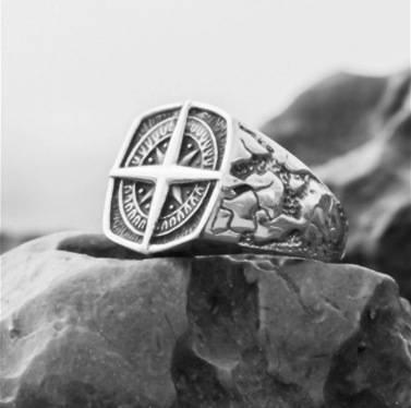 Bague terre de viking