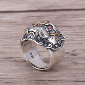 Dragon bague