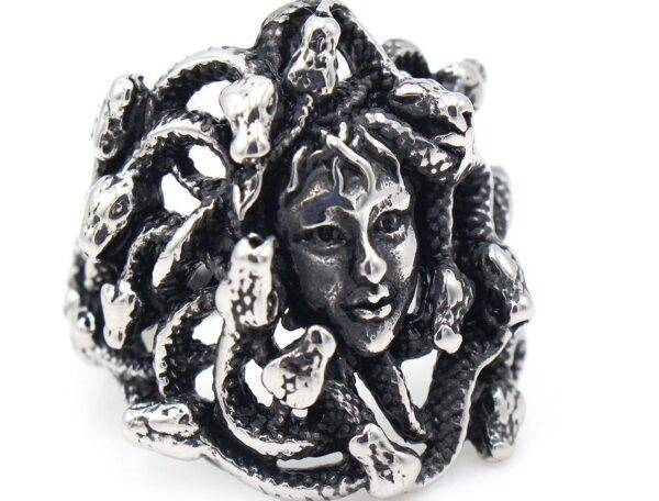 Bague Medusa