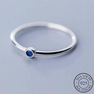 bague-argent-pierre-bleue